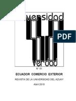 Comercio Exterior Ecuadorian
