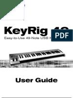 KeyRig 49 Manual