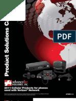AdvanceTec Verizon Product Brochure 2011-2