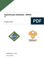 Descrição Detalhada do Modulo MPEG-4
