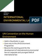 Internatonal Environmental Law