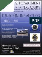 April 17 Auction Catalog