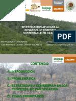 5 Investigacic3b3n Aplicada Al Desarrollo Forestal Sustentable en Oaxaca
