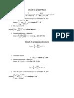 Calculul Circuitelor de Forta