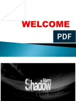 Shadow Alarm ppt by sachin rajak with saurav shekhar
