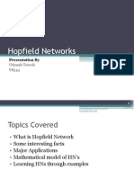 Hopfield Networks