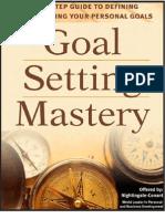 GoalSetting Mastery eBook - Brian Tracy