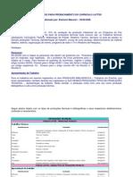 Orientação Produção técnca e bibliográfica LATTES