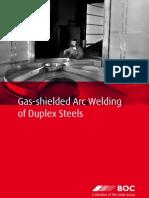 BOC 216521 Gas Shielded ArcWelding of Duplex Steels BrochureAUS