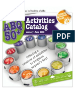 City of Albuquerque Department of Senior Affairs Activities Catalog Jan-Jun 2012