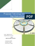 Proposal teknologi informasi dan komunikasi
