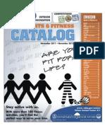City of Albuquerque Department of Senior Affairs 50 Plus Sports and Fitness Catalog 11-2011 - 11-2012
