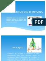 ESTIMULACION TENPRANA (PPT)