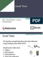 Presentasi Small Tools