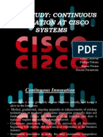 Continuous Innovation - Cisco