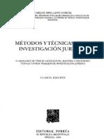 Metodos y Tecnicas de La Investigacion Juridica