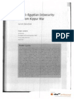 Israeli-Egyptian Insecurity_the Yom Kippur War m