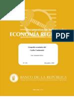 Geografia Economica de La Region Caribe