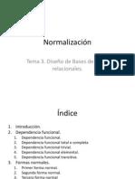 2. Normalización