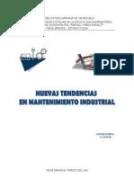 Nuevas Tendencias de Mantenimiento Industrial