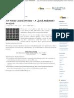 HP Public Cloud Services - A Cloud Architect's Analysis _ INITCRON