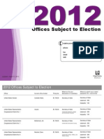 2012 Offices Subject to Election
