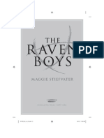 'Ravenboys' by Maggie Stiefvater - Chapter tease