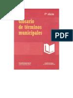 Glosario Ter Municipales