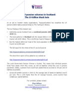 Pension Deficits 2012 Scotland