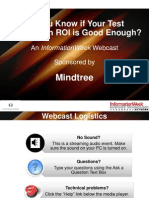 Do You Know if Your Test Automation ROI is Good Enough Webinar Presentation