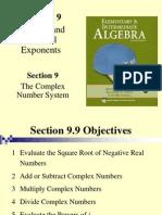 Seia2e_0909 9.9 the Complex Number System