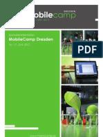 Sponsoreninformation MobileCamp 2012