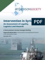 Syria Intervention
