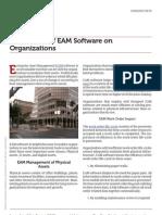 Www.mintek.com the Impact of Eam Software on Organizations