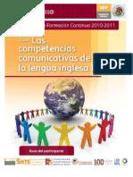 Las Competencias Comunicativas de La Lengua Inglesa II