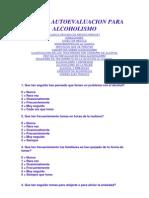 Test de Autoevaluacion Para Alcoholismo