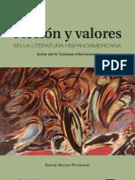 Ficción y valores en la literatura hispanoamericana. Tomo II. Actas del IV Coloquio Internacional