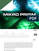 Mikro Prism Manual English
