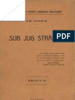 Gh. Dighis - Sub Jug Strain - 1915