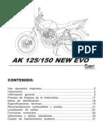 AkT 125 EVO NEW