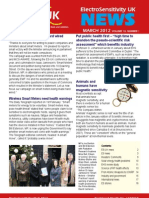 Electrosensitive Newsletter (March 2012)