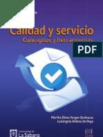 Calidad y servicio. Conceptos y herramientas