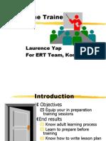 Train the Trainer Training 17383