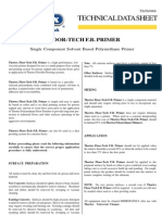 Floor Tech Fb Primer Data