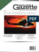 Marine Corps Gazette Magazine 2010-05