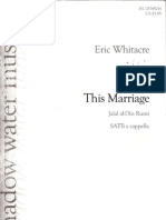 24720317 Eric Whitacre This Marriage