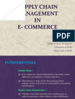 Supply Chain Management in E-commerce