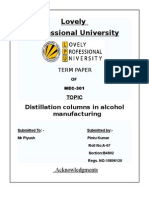 Alkohal Manufacturing
