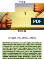 Intenção Ética e Norma Moral