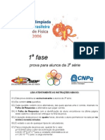 OBF2006 1Fase 3serie Prova